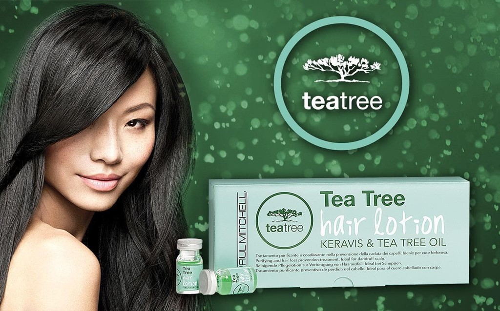 Foto 1 TEA TREE HAIR LOTION KERAVIS & TEA TREE OIL.