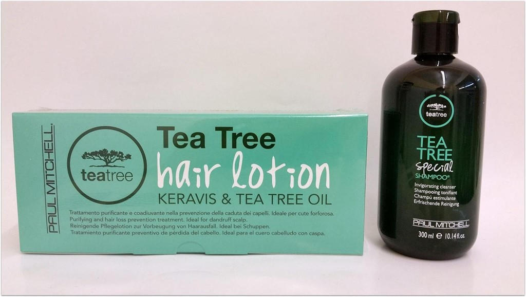 Foto 2 TEA TREE HAIR LOTION KERAVIS & TEA TREE OIL.